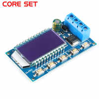 8A 1-Channel 1Hz-150KHz Dual Mode LCD PWM Pulse Frequency Duty Cycle Module Signal Generator Driver Module for Motor Lamp
