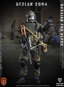 Image 3 - CrazyFigure LW009 Russian Alpha Special Forces Sniper 1/12 ACTION FIGURE