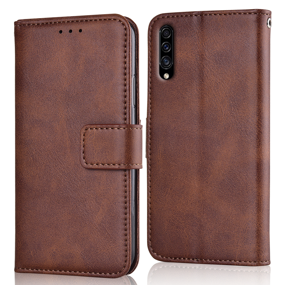 A30S Case Slim Leather Flip Cover for Samsung Galaxy A30s A30 S A 30S 6.4 Case Wallet Magnetic case for Samsung A30S image