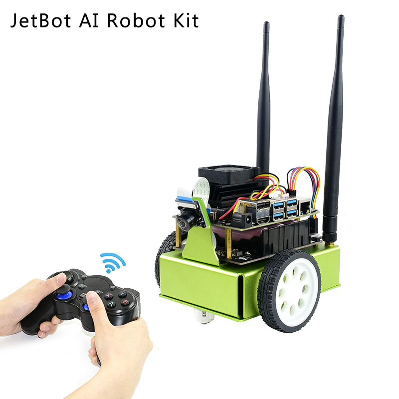 Nvidia Official Recommend Jetbot Smart AI Robot Kit For Jetson Nano Development Kit With Camera WiFi Bluetooth For Jetson Nano