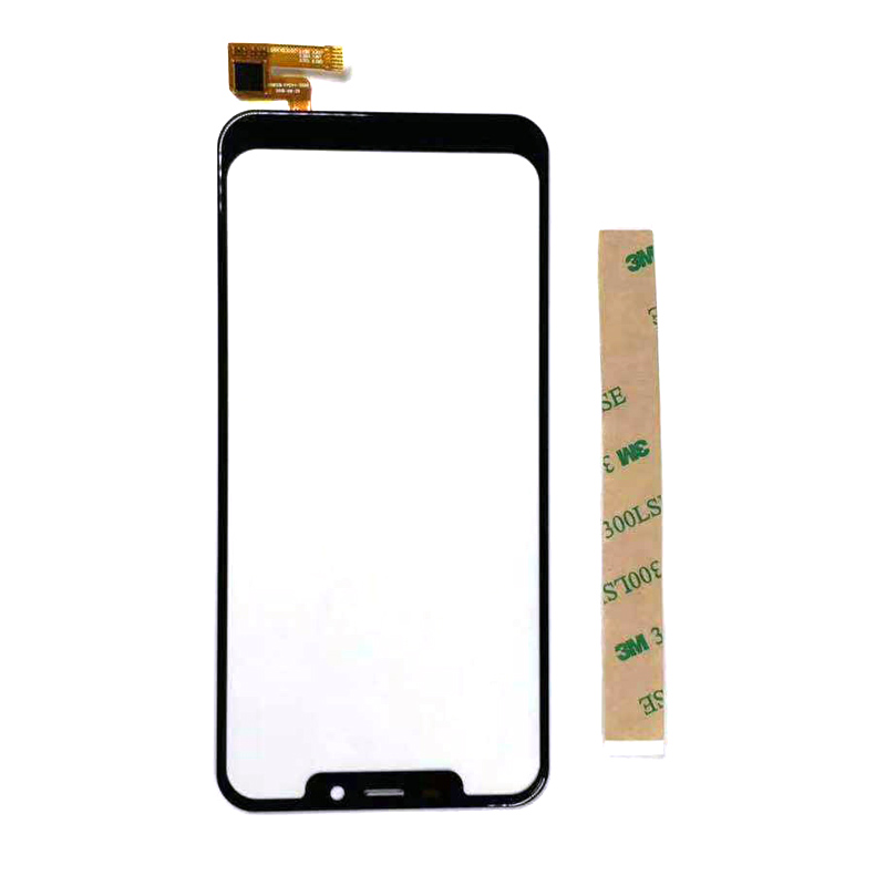 Touch Screen For Oukitel C12 Pro Front Glass Digitizer Panel Sensor Lens Replacement With 3m Sticker