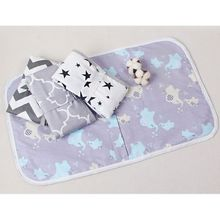 Portable Waterproof Baby Changing Mat Newborn Foldable Changing Diaper Nappy Pad F3ME