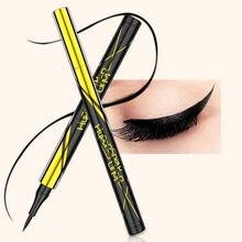 Secagem rápida delineador impermeável preto de longa duração não florescendo forro caneta fácil de usar à prova de manchas charme olhos maquiagem tslm1