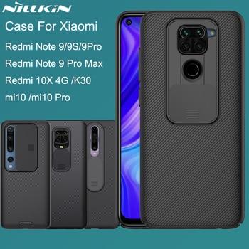 NILLKIN for Xiaomi Redmi Note 9 S Pro Max 9S Mi 10 Pro Redmi K30 10X 4G Back cover case CamShield Camera Protection Lens Cover