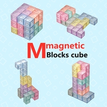 Blocks Cube Magnet 3x3 Toys Educational-Toys Puzzle Cubo Qiyi Kids for Children Boys