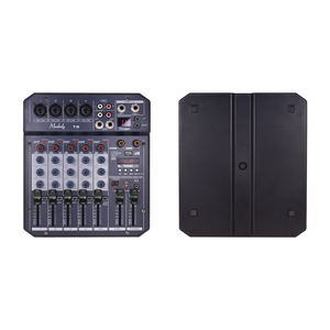 Image 2 - Muslady T6 Portable 6 Channel Sound Card Mixing Console Audio Mixer Built in 48V Phantom power Supports BT Connection DJ Live