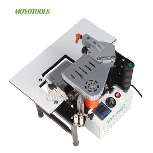 Image 4 - wood manual edge banding machine PVC portable Edge Bander Double Side Gluing 110V/220V 1200W  Woodworking Machinery MY50