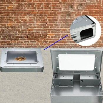 Hogar eficaz ratón caja de trampas reutilizable cucarachas ratón insecto cucaracha Catcher ratón asesino trampas de plaguicidas