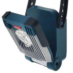 450l Dewalt 14.4V/18V Li ion przenośne światło robocze LED latarka do oświetlenia witryny z funkcja alarmu w Kontrolki od Lampy i oświetlenie na