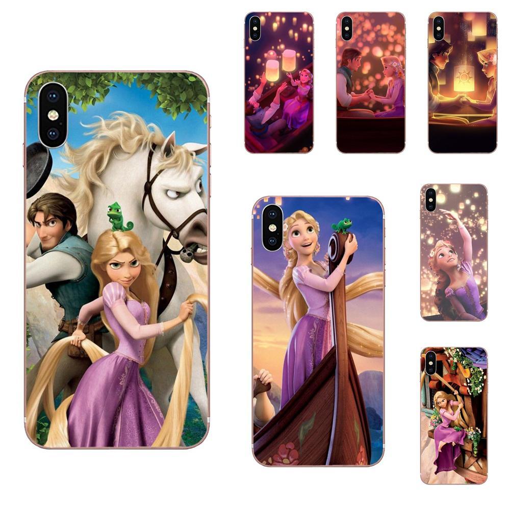 Phone-Case Rapunzel Xiaomi Redmi Princess Beautiful Note For Mi-4/7a/9t/.. 9/Y3/Se/..
