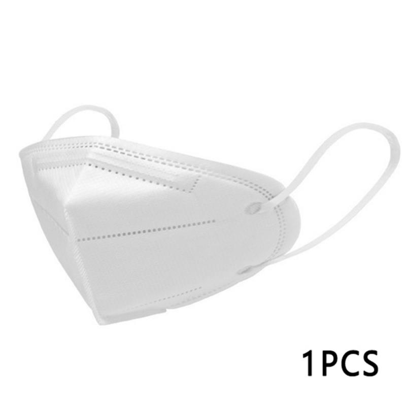 1 PC KN95 Safety Anti Pollution Dust Masks Gray Adult Folding Valved Particulate Respirator 95% Filtered Protective Mouth Mask