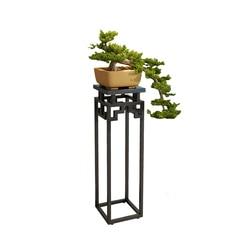 Stojak wielopoziomowy przechowywanie kwiat Airs balkon udekoruj chiński styl doniczka rama salon zielona rzodkiewka półki mięsne|Półki dla roślin|Meble -