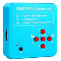 2019 Volle HD 1080P 60FPS 2K 3800W 38MP HDMI USB Industrielle Elektronische Digital Video Mikroskop Kamera Für telefon CPU PCB Reparatur-in Mikroskope aus Werkzeug bei