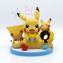 TAKARA TOMY Pocket Monster Pikachu Kids Gifts Action Figure Pokemon Dolls Toy 13CM