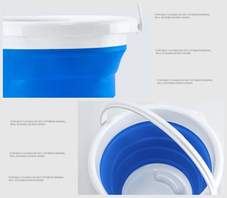 água multifuncional caixa de armazenamento balde de