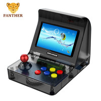 CoolBaby RS 07 Video Game Console Handheld Rocker Arcade 4.3inch LCD 10simulators dual core CPU support double player game