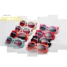 купить 8Color Fashion Children Sunglasses Boys Girls Kids Polarized Sun Glasses PC Safety Glasses Baby Eyewear UV400 дешево