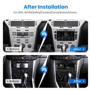 Image 4 - Junsun Android9.0 GPS RDS 2 + 32GB אופציונלי עבור אופל אסטרה Vectra Corsa Antara Vivaro Zafira מריבה 2 דין רכב רדיו DVD לרכב נגן
