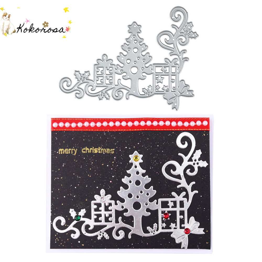 Holly Branch Christmas Metal Cutting Die Brand New Cardmaking Scrapbooking