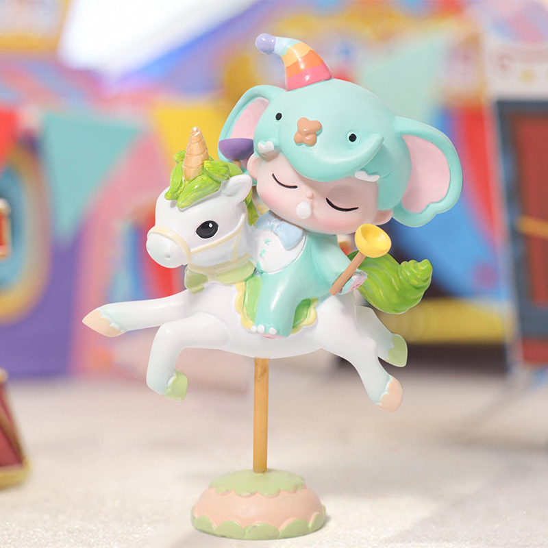 Blind Box Carousel DILEE Hand To Do Cute Cartoon Desktop Decoration To Send Girlfriends Gifts Girl Doll Authentic