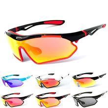 Polarized Cycling Sunglasses Outdoor Sports Golf Glasses Bik