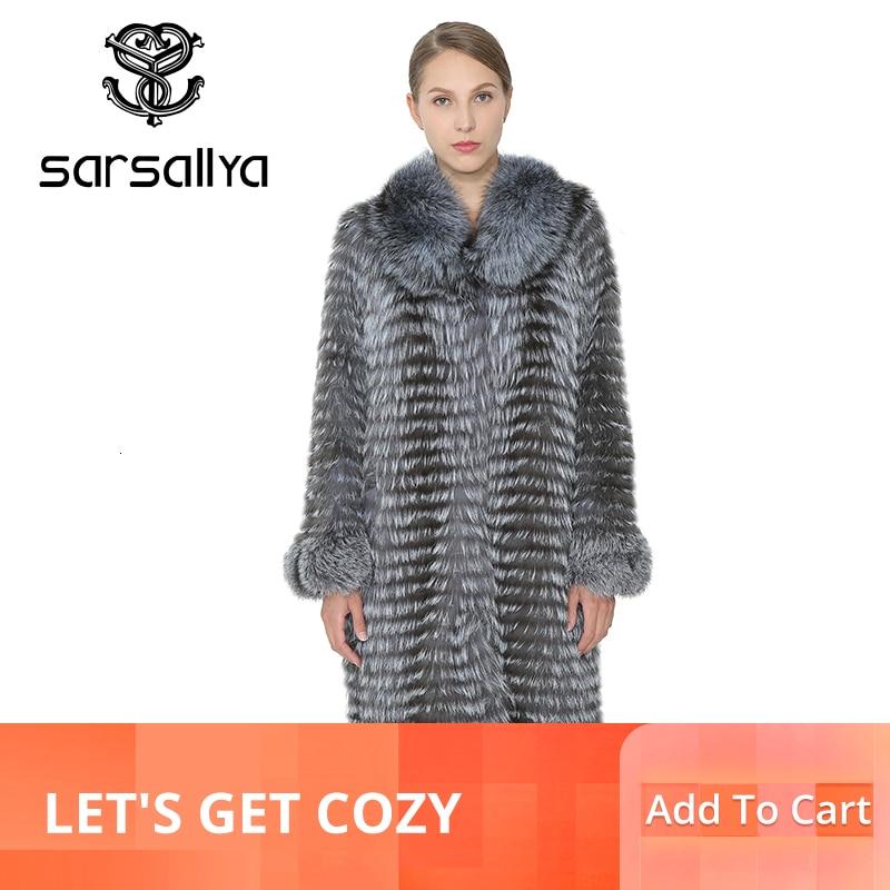 SARSALLYA الحقيقي الفراء معطف المرأة الحقيقي الطبيعي الثعلب الفراء الشتاء الدافئة معاطف طويلة المرأة سترة الثعلب الفراء الإناث الملابس معطف من فرو المنك-في فراء حقيقي من ملابس نسائية على  مجموعة 1