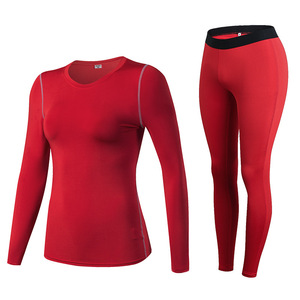 Image 1 - Fanceey مكافحة الميكروبية ملابس اخلية حرارية النساء سريعة الجافة طويل جونز للنساء الجلد الثاني الشتاء الإناث الحرارية أطقم داخلية جريمي