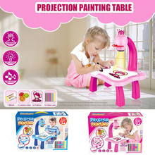 Desk-Toy Paint-Tools Projector Drawing-Table Early-Learning Educational Musical Kids