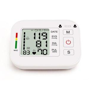 Image 3 - ציוד רפואי Tonometer דיגיטלי עליון זרוע Tensioner לחץ דם צג מדידת מטר מכשיר BP מד למדידת