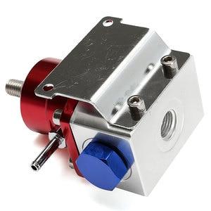 Image 4 - Universal ajustável regulador de pressão combustível óleo 160psi calibre um 6 extremidade montagem mangueira kit