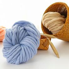 Super Bulky Arm Knitting Wool Roving Knitted Blanket Chunky Wool Yarn Super Thick Yarn For Knitting Crochet Carpet Hats#YL5 tanie tanio CN (pochodzenie) Barwione 270g Poliester bawełna Merceryzowanej Szycia Szydełka Muliną Haft Ręcznie na drutach Tkania