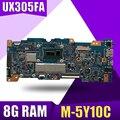 XinKaidi UX305FA материнская плата для ноутбука ASUS UX305FA UX305F UX305 тест оригинальная материнская плата M-5Y10C CPU 8G RAM