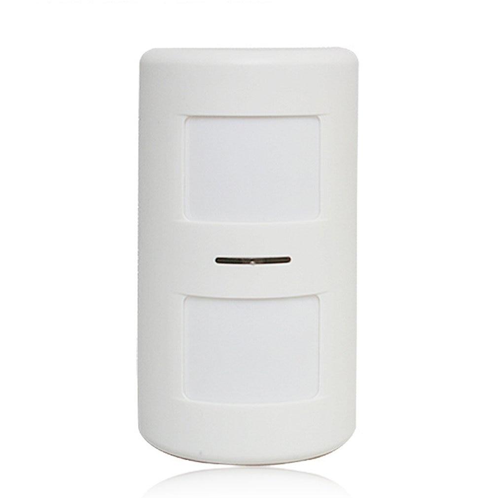 Mini Wireless Passive Infrared Detector Double Probe PIR Motion Sensor For Alarm Systems Home Security Burglar Alarm 712