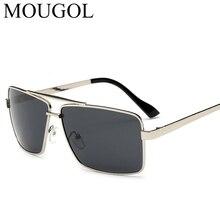 MOUGOL 2019 new polarizer male outdoor sunglasses metal frog mirror men polarized