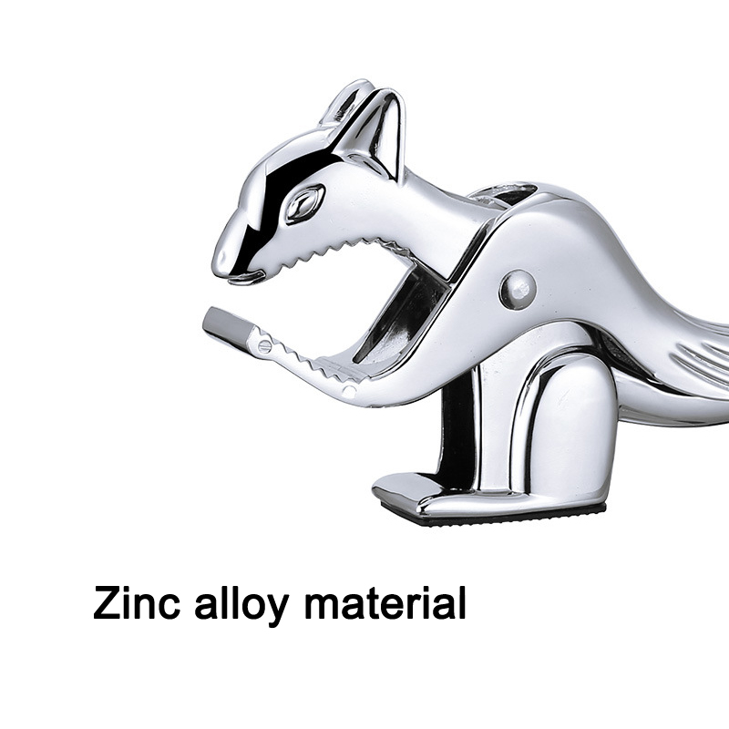 Squirrel Shaped Walnut Clip Zinc Alloy Opener Kitchen Pliers Tool Nut Opener DC112