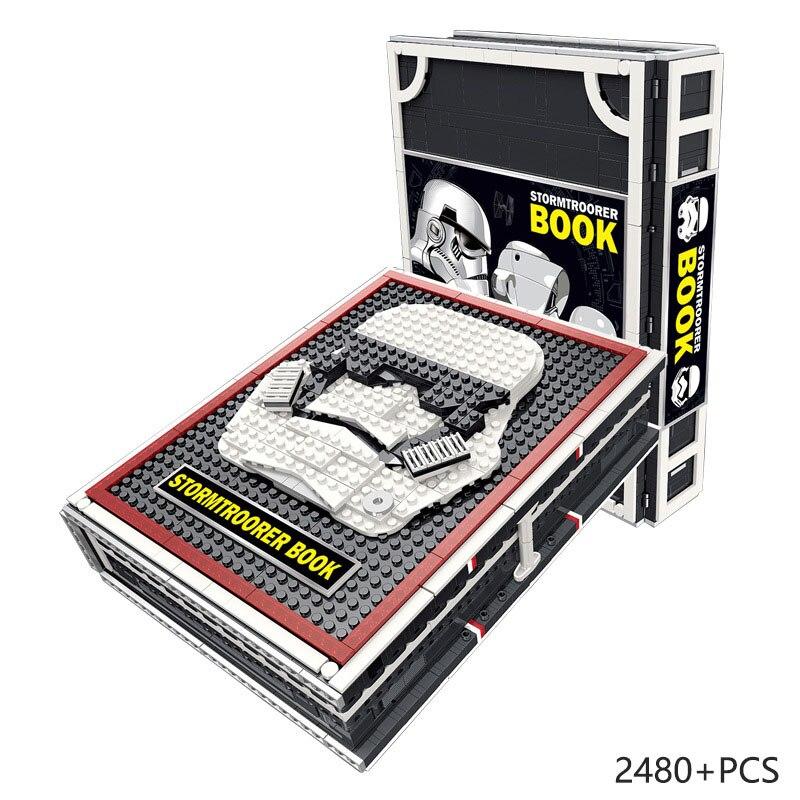 Stormtroorer солдат Коллекционер издание Звездные войны 2480 шт Модель Строительный блок сборка кирпичная игрушка Звезда смерти фигурки