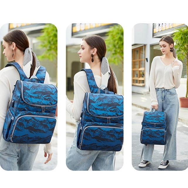 Фото сумка для подгузников рюкзак складная детская кровать многофункциональная цена