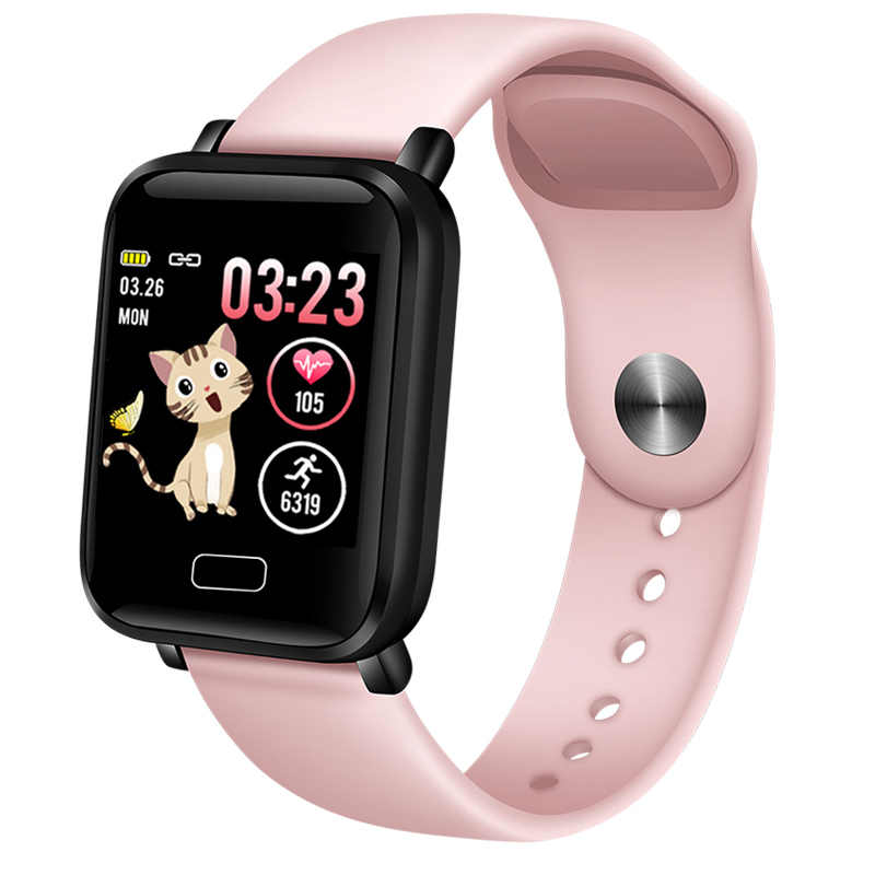 LIGE 2019 新しい女性のスマート防水スポーツ Iphone 電話スマートウォッチ心拍数モニター血圧機能 + ボックス