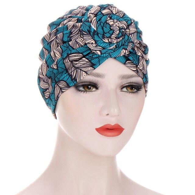 Новые шапки тюрбаны для женщин предварительно завязанные шелковистые