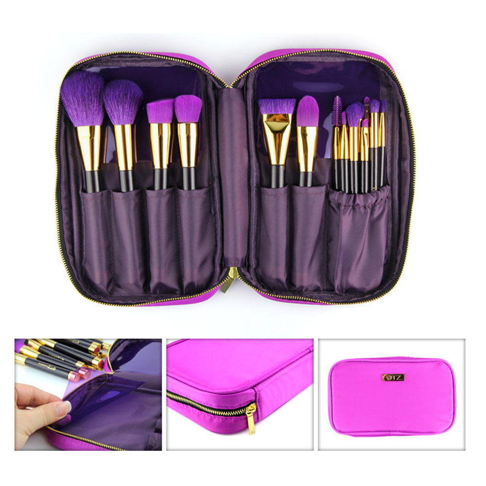 15PCs Make Up Wood brush Wool Fiber eyeshadow eyebrow eyeliner soft Cosmetic Brushes  Eye Shadow pinceis de maquiagem Jz917