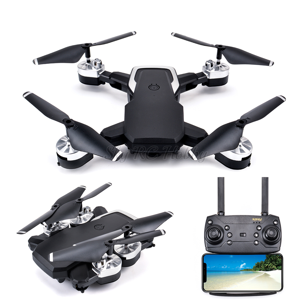 Best Drone 4K with HD Camera WIFI 1080P Camera Follow Me RC Quadcopter FPV Professional Drone Long Battery Life Toy For Kids|Parts & Accessories| |  - title=