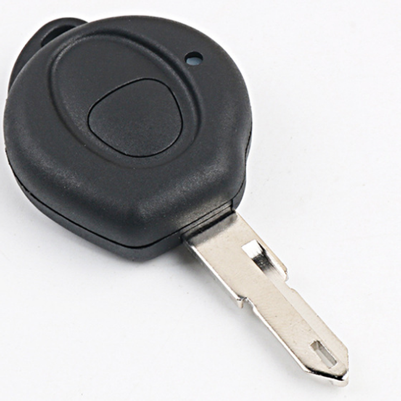 1 Big Button Replacement Remote Case Key Blank Shell For Peugeot 206 NE73