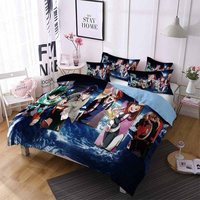 Conjunto de cama meu herói academia, 2