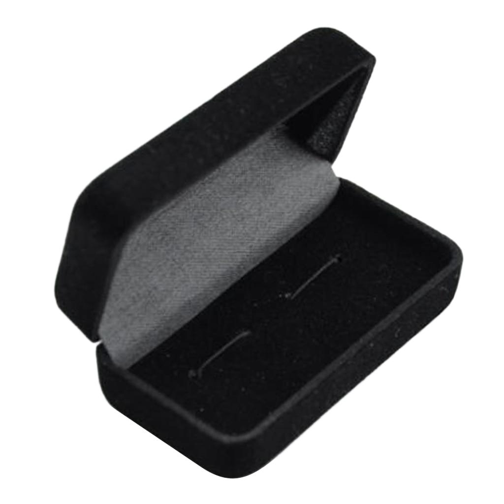 Classic Business Cufflink Storage Gift Box Cuff Links Jewelry Display Case  Jewelry Packaging 7.5 X 4 X 3cm