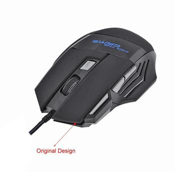 5500DPI LED Optical USB Wired Gaming Mouse 7 Buttons Gamer Computer Mice for computer laptop desktop PC 5