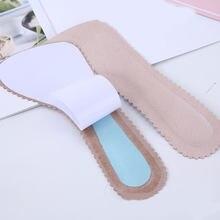 Plantillas de masaje antideslizantes para mujer, almohadillas de siete puntos, almohadillas de cuero para pies, plantillas para tacones ortopédicos, 1 par