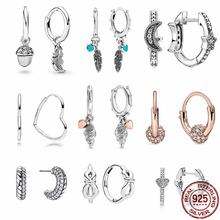 100 prawdziwe 925 Sterling Silver 11 Style Classics serce cyrkon kolczyki nadają się jako prezenty urodzinowe dla dziewczyn biżuteria tanie tanio CODEDOG CN (pochodzenie) 925 sterling moda Push-back CME1404 Kobiety Brak Kolczyki-sztyfty TRENDY PLANT Certyfikat GDTC