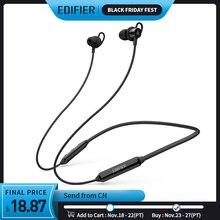 EDIFIER W200BT(SE) bezprzewodowe słuchawki Bluetooth 5.0 IPX4 oceniane wodoodporne 7 godzin odtwarzania funkcja magnetyczna słuchawki bluetooth