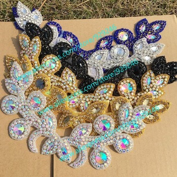 Купон Дом и сад в True-Love rhinestone trims applique garment accessory со скидкой от alideals
