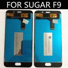 """5.5 """"lcd砂糖F9 lcdディスプレイ + タッチスクリーンデジタイザアセンブリの交換アクセサリー"""